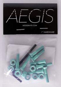 "Hardware Painted Aqua 1"""