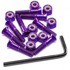 """Hardware Anodised Purple 1"""""""