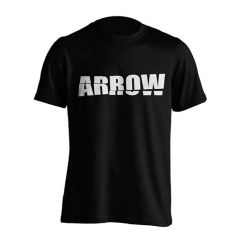 Arrow Shatter Logo Tee Black